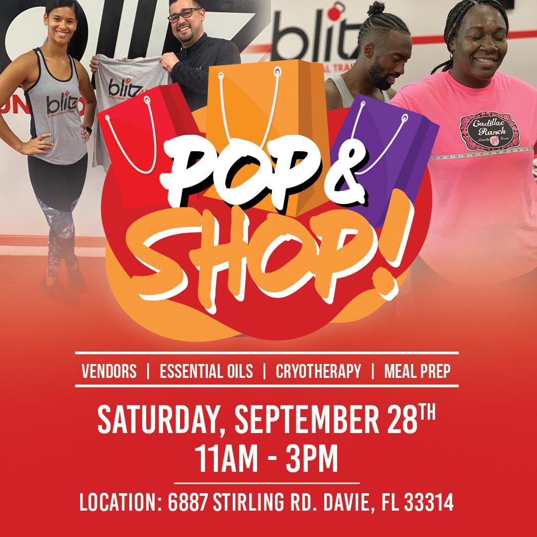 Pop & Shop Event